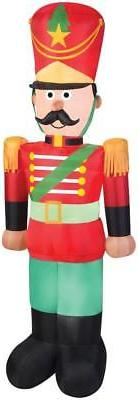 7 FT LED LIGHTED TOY SOLDIER NUTCRACKER AIRBLOWN INFLATABLE