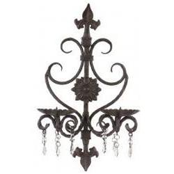 Imax 7790 Wall Sconce with Crystal Accent Beads
