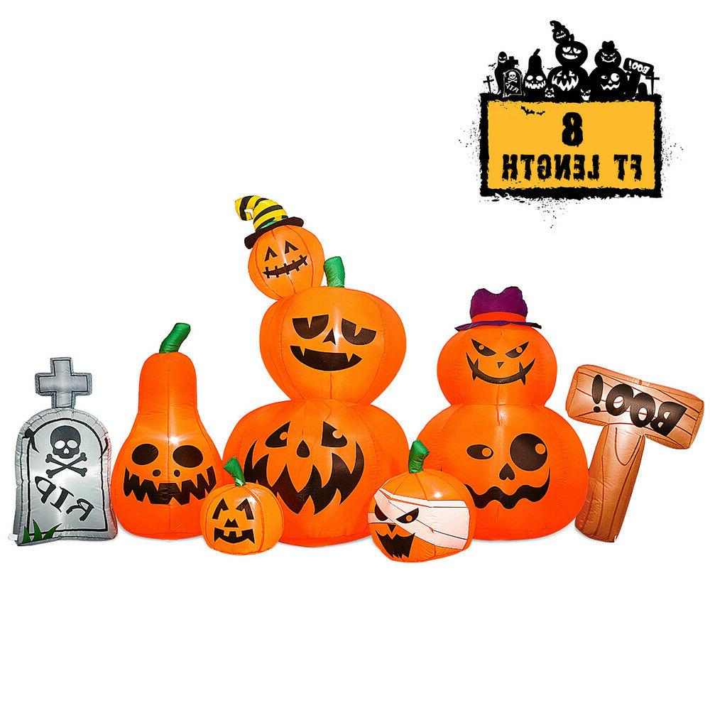 8 Foot Inflatable Tombstone Party
