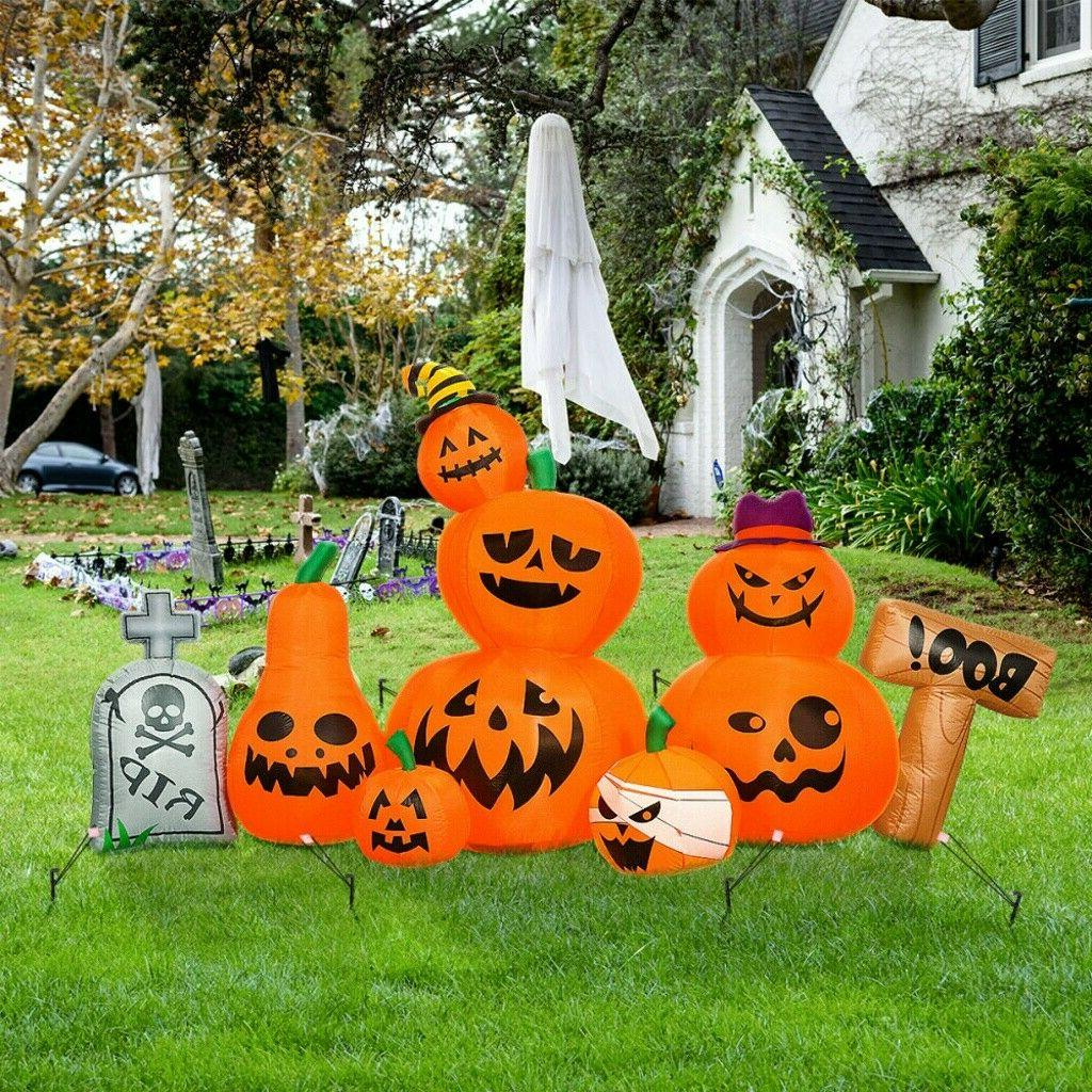 8' Halloween Air Blown Inflatable Blowup Yard Decor Funny Fa