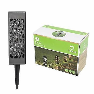 Maggift Powered LED Garden Automatic for Patio, Yard and