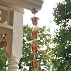 8ft Rain Catcher, Chain Metal Cups Sounds Decor Hang Outdoor