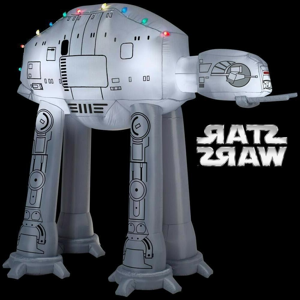 9 Ft STAR AT-AT WALKER with LIGHTS GEMMY Inflatable