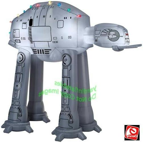 9 Ft AT-AT WALKER with LIGHTS Yard Inflatable