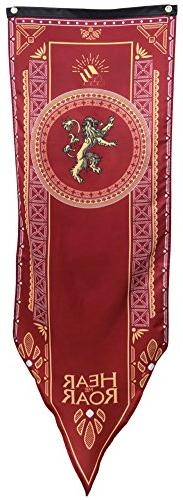 Game Of Thrones- House Lannister Tournament Banner Fabric Po