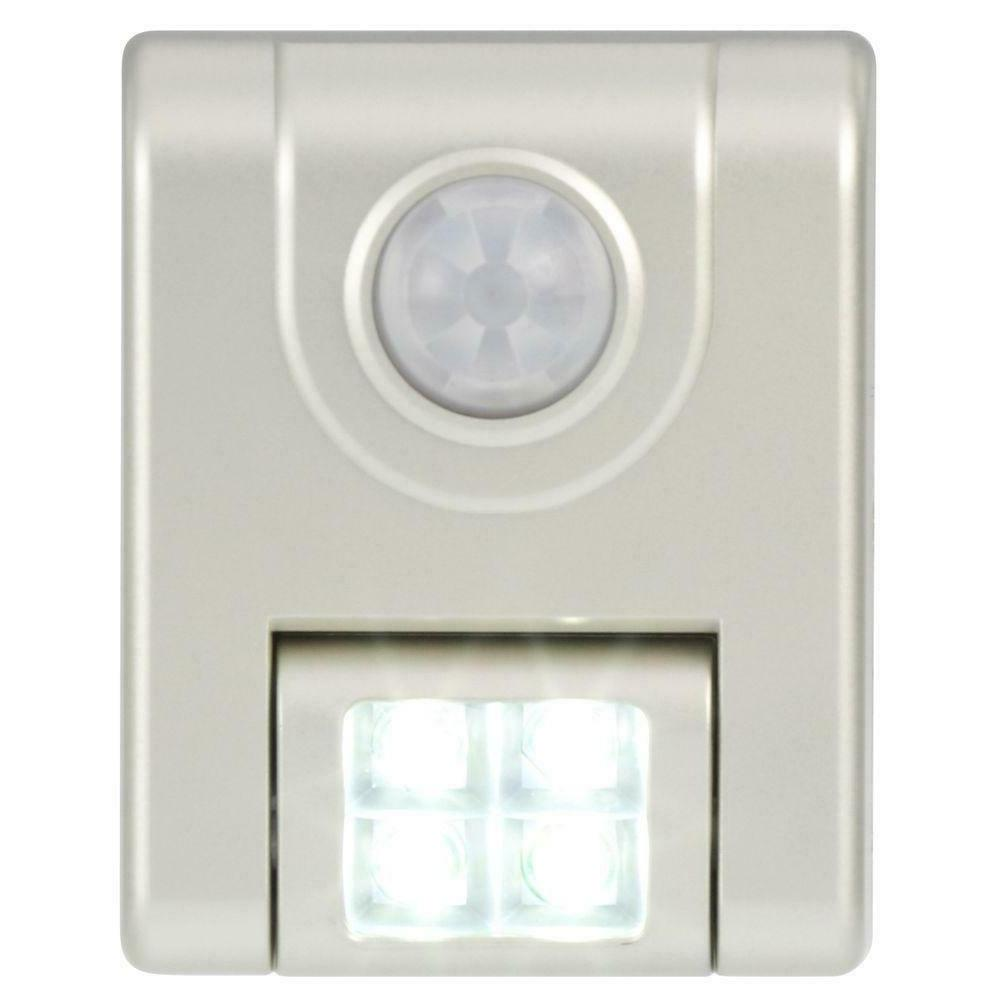 Light 4-led Motion Activated - Silver