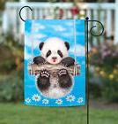 NEW Toland - Panda Playtime - Cute Bear Sky Blue Swing Flowe