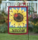 NEW Toland - Sunflower Lady - Cute Welcome Ladybug Flower Sp