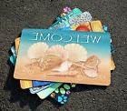 NEW Toland - Welcome Shells - Decorative Summer Beach Door S