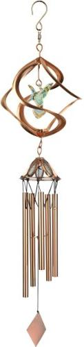 Red Carpet Studios 10131 21-Inch Copper Cosmix Wind Spinner