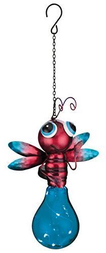Regal Art & Gift Solar Firefly Lantern, Blue