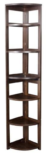 Regency Flip Flop 67-inch High Corner Folding Bookcase- Moch