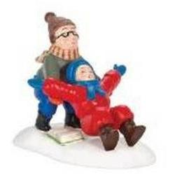 A Christmas Story Village Ralphie to the Rescue Figurine