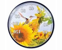 Accurite ACCURITE01925 Sunflower Hummingbird Thermometer