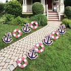 Ahoy - Nautical Girl - Outdoor Baby Shower or Birthday Party