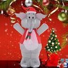 4 Ft Airblown Inflatable Christmas Xmas Elephant Decor Light