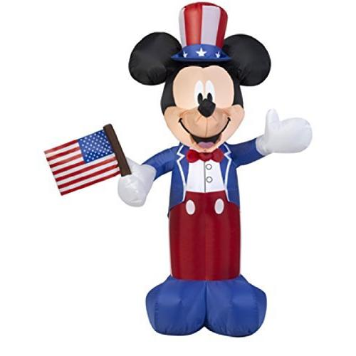 airblown inflatable patriotic mickey mouse