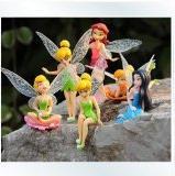 Anime Cartoon Tinkerbell Fairy PVC Action Figure Toys Girls