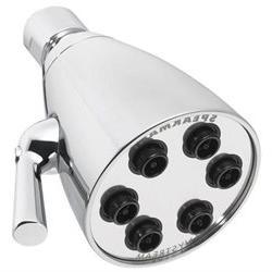 Anystream 6-Jet Showerhead - Finish / Low Flow Rate: Polishe