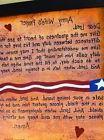 Army Wifes Prayer sign framed custom Navy Marines Air Force