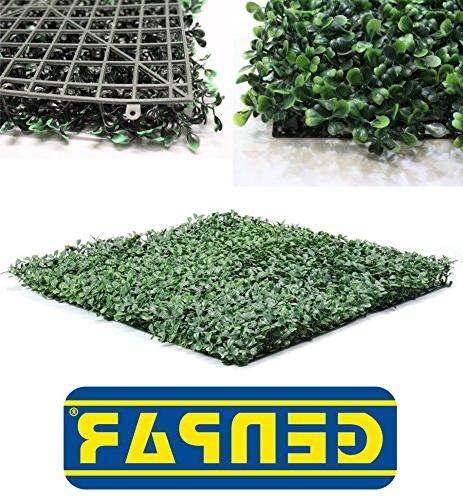 GENPAR Artificial Boxwood Covers 33 12 Panels 15 Life Span Indoor Outdoor Home Backyard Privacy Fence