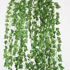 LJY 16 Pack Artificial Greenery Ivy Vine Leaves Garland for