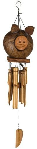 Woodstock Chimes CPIG Asli Arts Collection Bamboo Chime, 22-