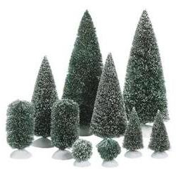 Bag-O-Frosted Topiaries - Small Department 56 Accessory