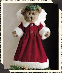 Boyds Bears Holly Beary Holiday Tree Topper Angel  Style # 7