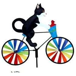 20in Bicycle Spinner - Tuxedo Cat