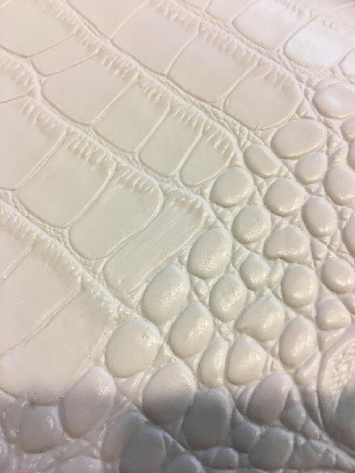 BIG CROCODILE Texture Leather Vinyl