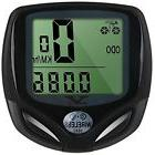 Kaleep Bike Bicycle Wireless LCD Cycle Computer Odometer Spe