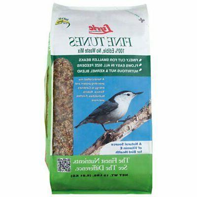bird seed fine tunes no waste mix