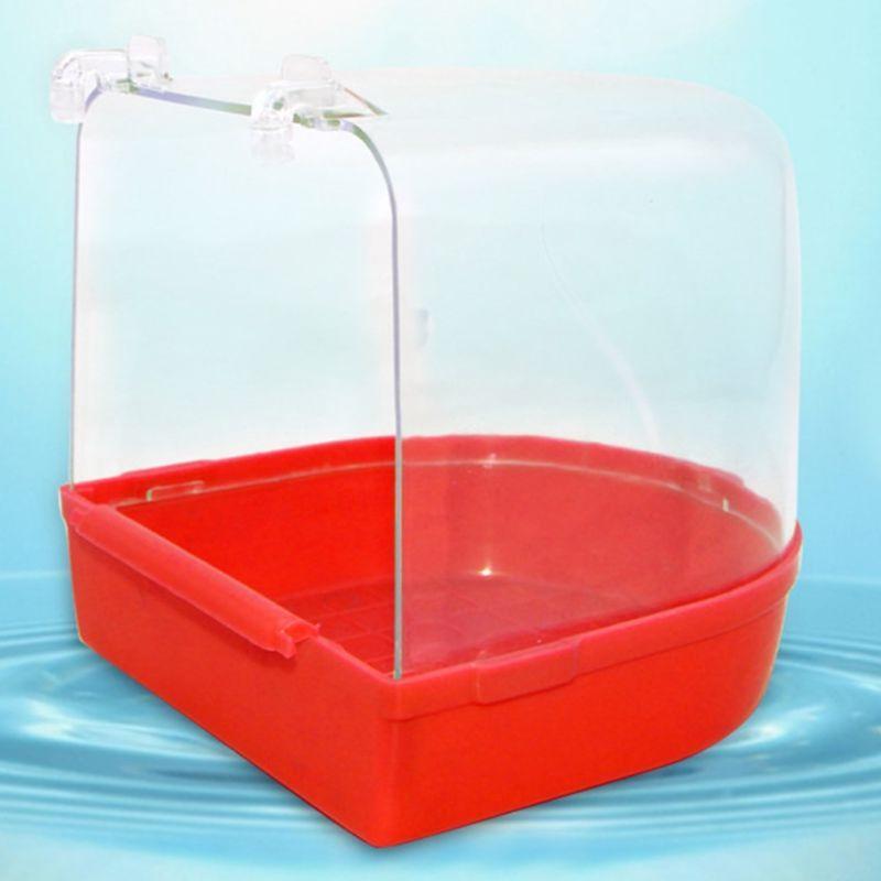 Bird Water For Pet Birds Cage Hanging Birdbath
