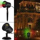 Blinking Red and Green Laser Christmas Lights Projector Star