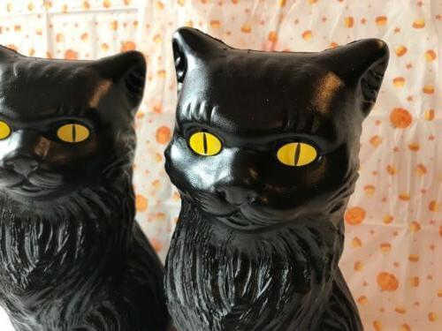 "Blow Halloween Cats Decoration Union 11"""