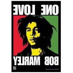 Bob Marley Poster Flag