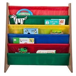 Saganizer book shelf and magazine rack 5 pockets Toddler-siz