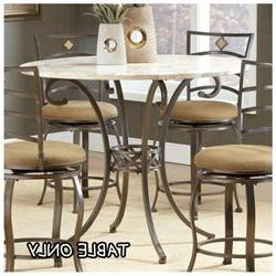 Brookside Counter Height Stone Top Dining Table