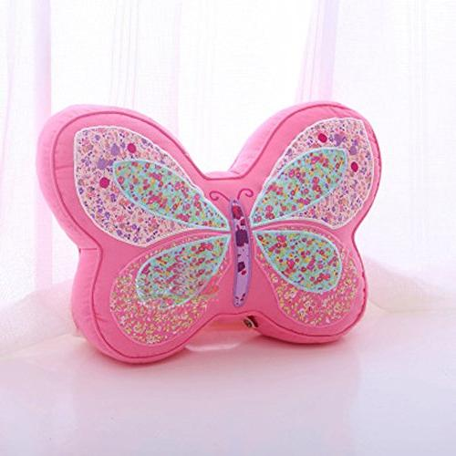 butterfly shaped pillow little girls