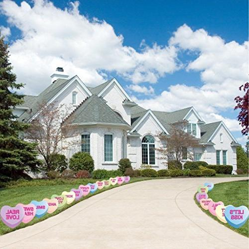 candy heart valentine day pathway