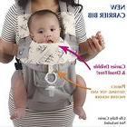Baby Carrier Cover Protects Burp Breast & Bottle Feeding Boy
