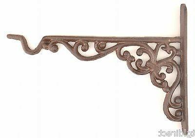 cast iron plant hanger ornate pattern 10