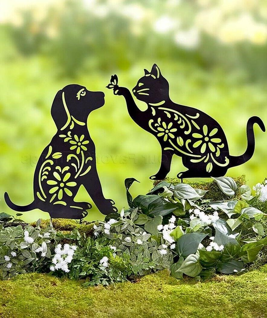 Cat Stake Art Outdoor