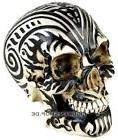 Celtic Knotwork Tribal Tattoo Skull Money Bank Statue Figuri