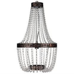 vidaXL Chandelier Brown 16x28