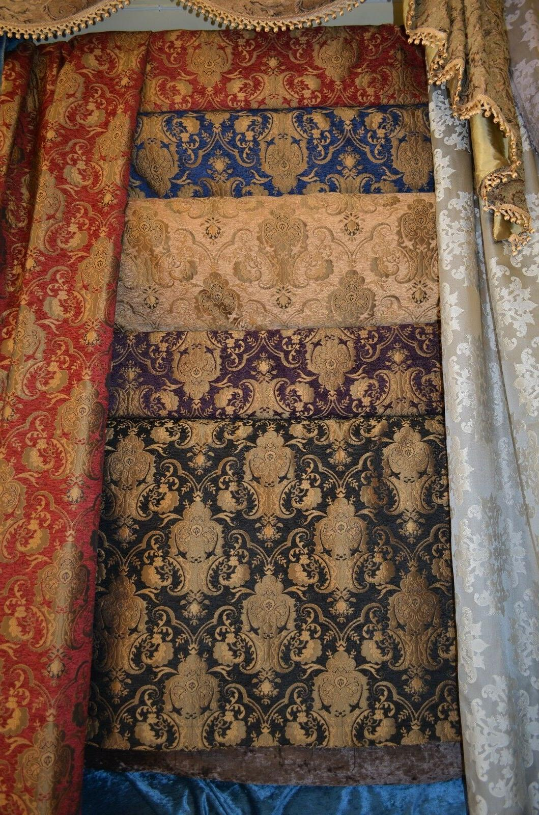 Chenille Renaissance Home Decor Upholstery, Sold By the Yard