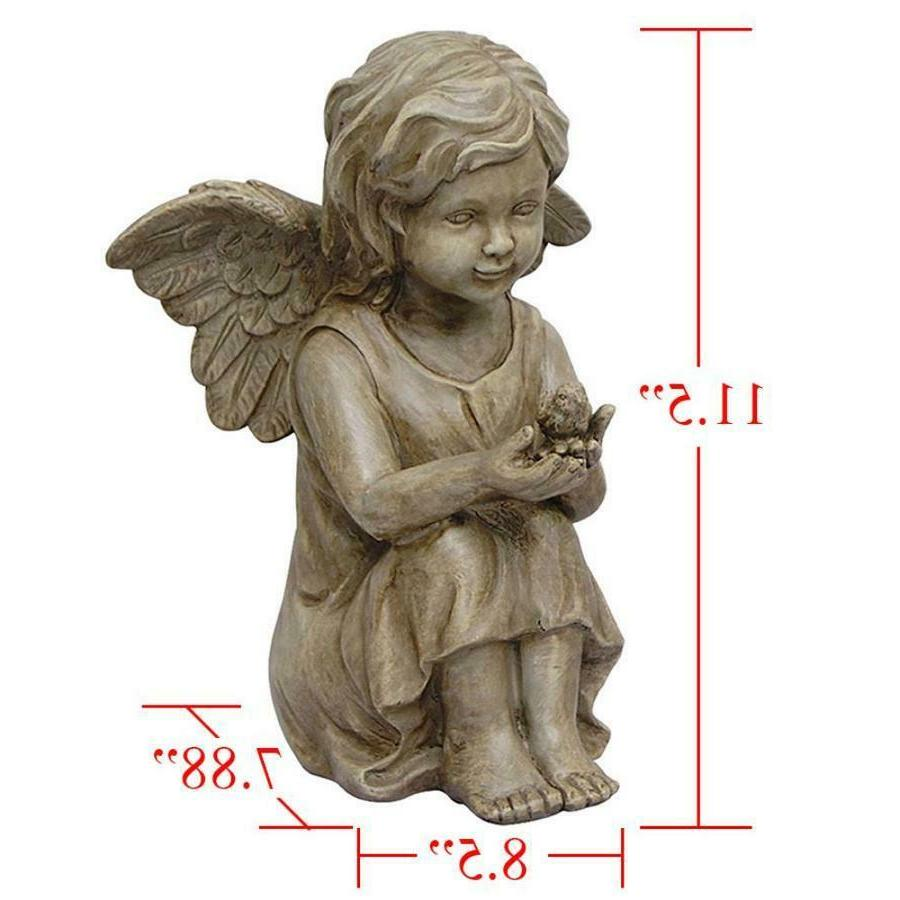 Cherub 11.5 Inch Outdoor Bird