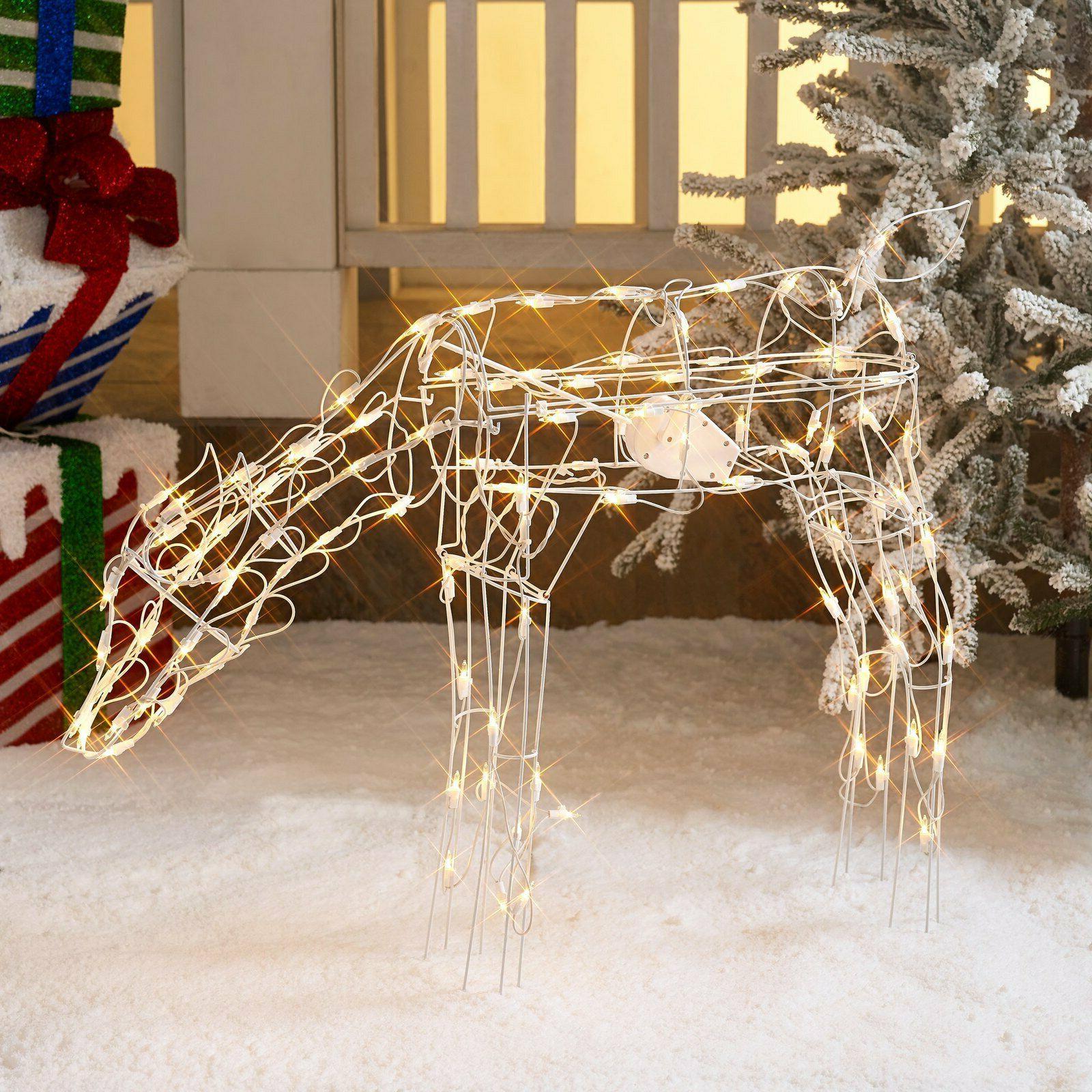 Christmas 40 INN Doe Deer Outdoor Yard Decor Xmas Sculpture