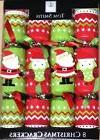 TOM SMITH Beautiful 8 pc Christmas Crackers Green/Red  NEW I